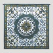 Blue Suzani Wall Tapestry