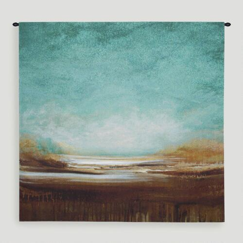 """""""New Horizons"""" by Cat Tesla Wall Tapestry"""