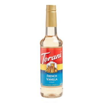 Torani French Vanilla Syrup, Set of 4