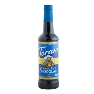 Torani Sugar-free Chocolate Syrup, Set of 4