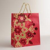 Large Snowflake Manor Gift Bag