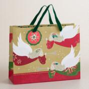 Medium Buon Natale Bells  Gift Bag