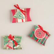 Buon Natale Gift Pouches, 3-Pack