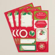 Buon Natale Gift Labels, 30-Count