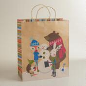 Jumbo Fox & Hare Gift Bag