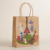 Medium Fox & Hare Cabin Gift Bag