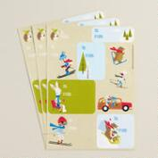 Fox & Hare Gift Labels, 30-Count