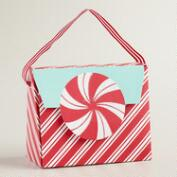 Retro Santa Candy Purse Gift Bag
