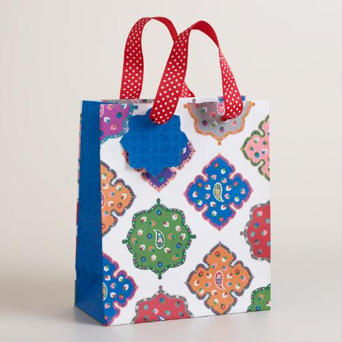 Small Global Tile Ornaments Gift Bag