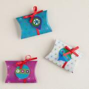 Mistletoe Wishes Gift Pouches, 3-Pack