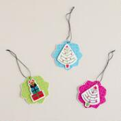 Mistletoe Wishes Gift Tags, 6-Pack