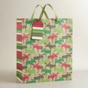 Scandi Moose Jumbo Gift Bag