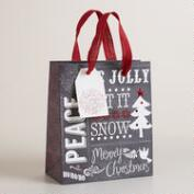 Small Scandi Chalk Gift Bag