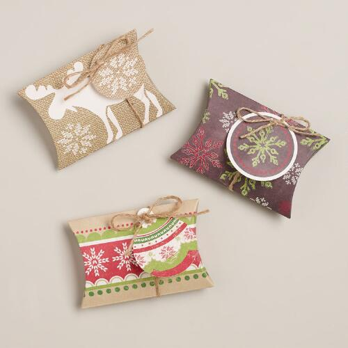 Scandi Gift Pouches, 3-Pack