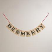 Scandi Be Merry Holiday Banner