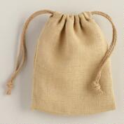 Burlap Pillow Gift Bag