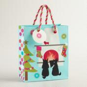 Small Scottie Fireplace Gift Bag