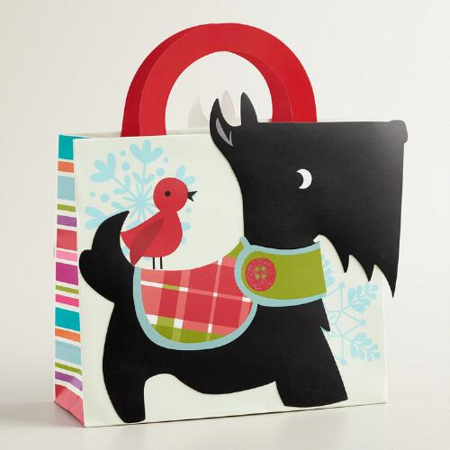 Small Scottie Gift Bag