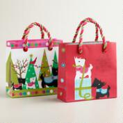 Mini Scottie Gift Bags, Set of 2