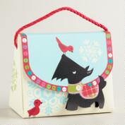 Scottie and Bird Candy Purse Gift Bag
