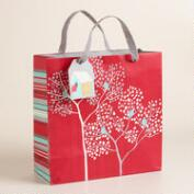 Medium Bird House Gift Bag