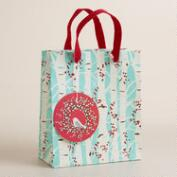 Small Snowbird on Branches Gift Bag