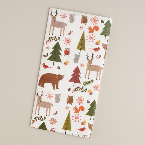 Woodland  Animals Tissue Paper