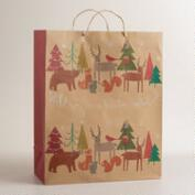 Jumbo Woodland Friends Gift Bag