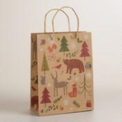 Medium Woodland Animals Gift Bag