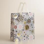 Large Flower Winter Soiree Gift Bag