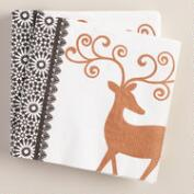Woodland Winter Soiree Cocktail Napkins, 16-Count