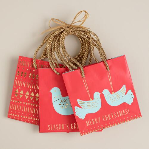Mini Doves Value Gift Bags, Set of 3