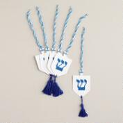 Dreidel Gift Tags, Set of 6