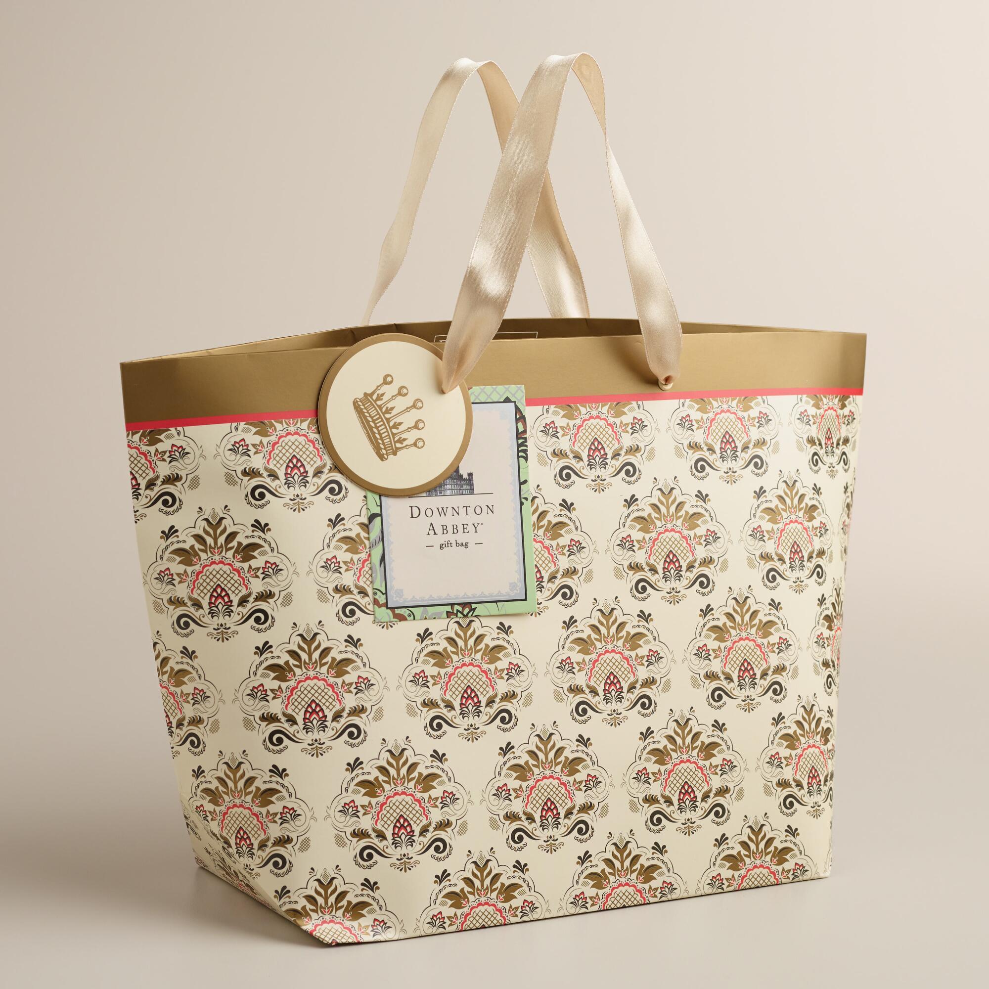 17 Best Images About Cost Plus World Market Food And More: Medium Downton Abbey Market Gift Bag