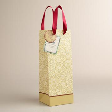 Downton Abbey Wine Bag