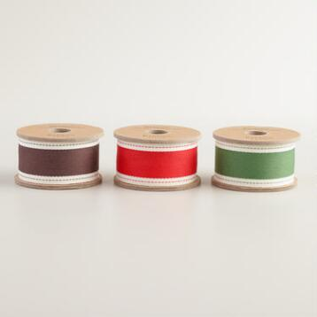 Pick Stitch Ribbon, 3-Pack