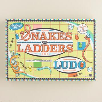 Retro Snakes and Ladders/Ludo Game