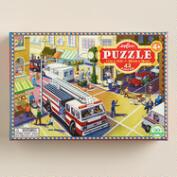 Fire Truck 42-Piece Puzzle
