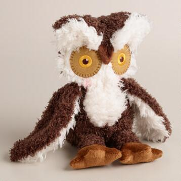 Hootie Stuffed Owl