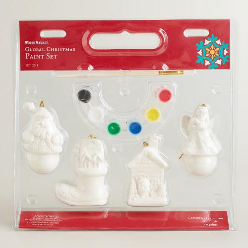 Paint Your Own Ornaments Craft Set