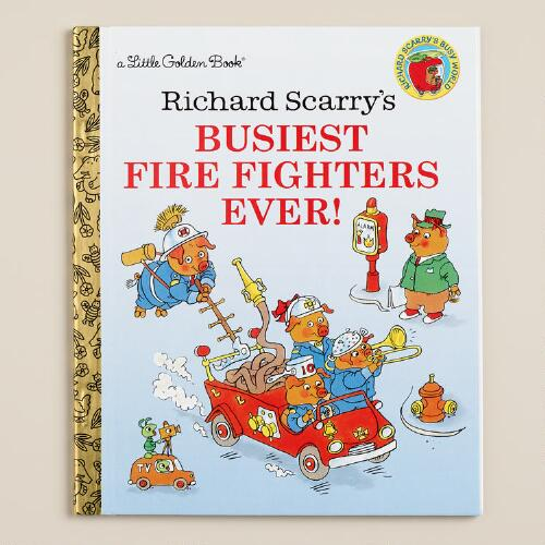 Busiest Firefighters Ever, a Little Golden Book