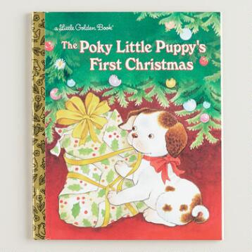 Poky Little Puppy's First Christmas, a Little Golden Book