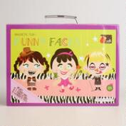 Funny Face Girl Magnetic Fun Kit