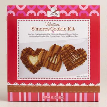 In the Mix Valentine's S'mores Cookies, Set of 2
