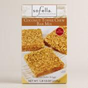 Sof'Ella Coconut Toffee Chewy Cookie Bar Mix, Set of 2