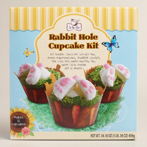 In the Mix Rabbit Hole Cupcake Kit, Set of 2