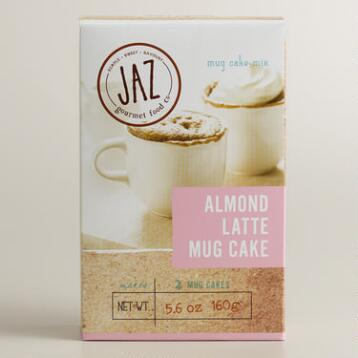 Jaz Almond Crème Latte Mug Cake, Set of 2