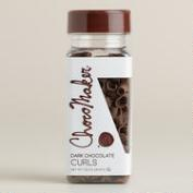 ChocoMaker Dark Chocolate Curls
