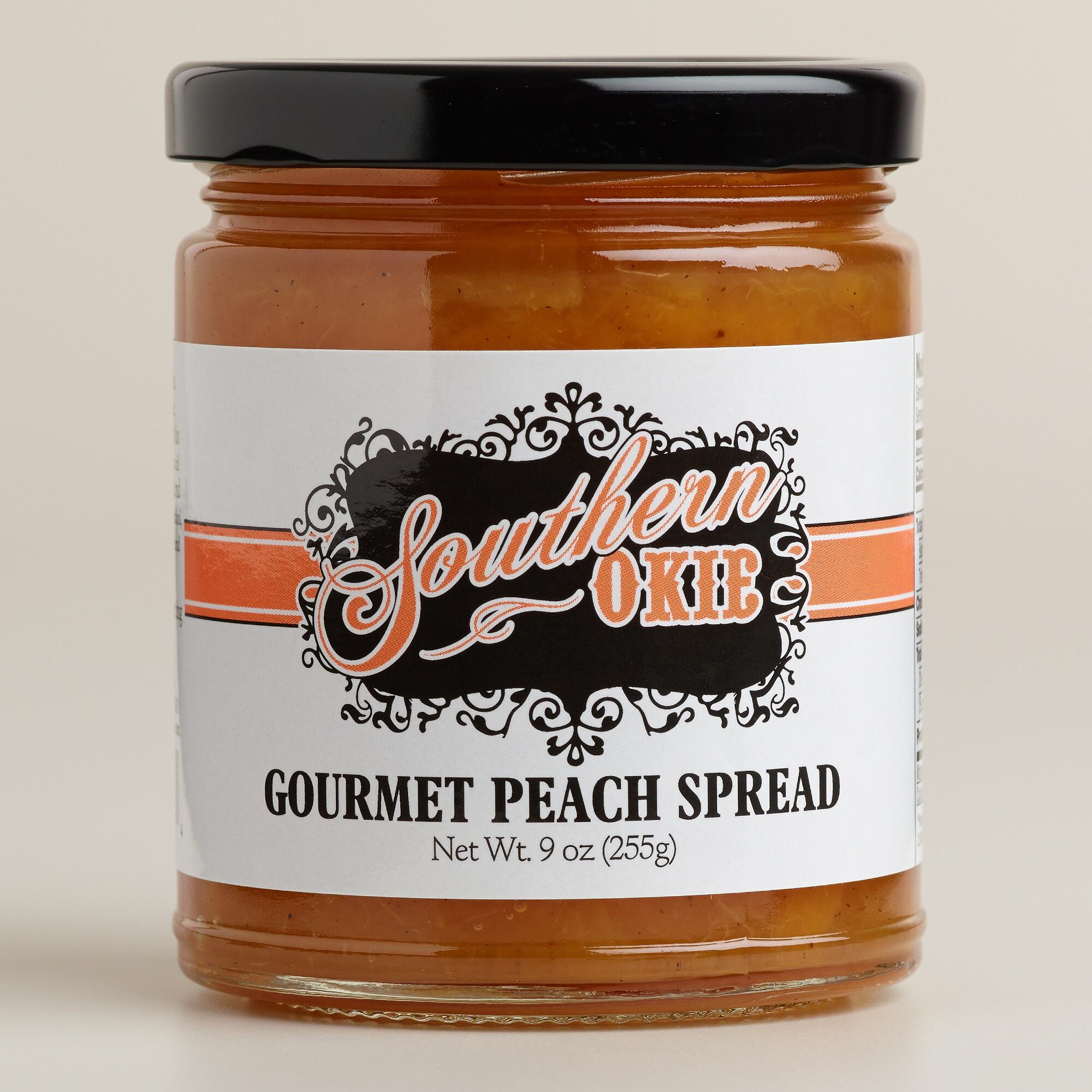 southern okie peach spread world market