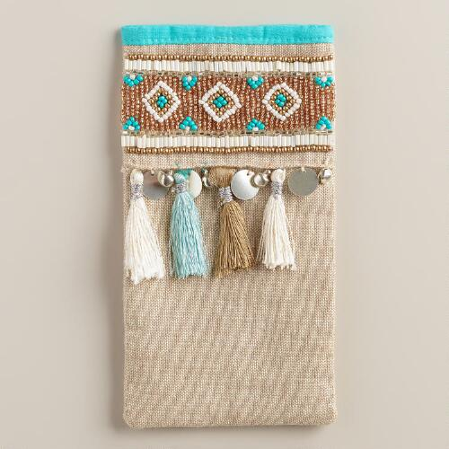 Tassels and Fringe Eyeglass Holder